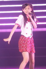 日本武道館で行われた『AKB48グループ研究生コンサート「推しメン早い者勝ち」』に出演したAKB48西野未姫(撮影:鈴木かずなり) (C)ORICON NewS inc.