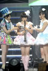 クラリネットでHKT48のデビュー曲「スキ!スキ!スキップ!」を披露した朝長美桜(撮影:鈴木かずなり) (C)ORICON NewS inc.