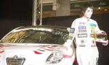 映画『ワイルド・スピード EURO MISSION』イタ(痛)車お披露目式イベントに出席したゴールデンボンバー樽美酒研二 (C)ORICON NewS inc.