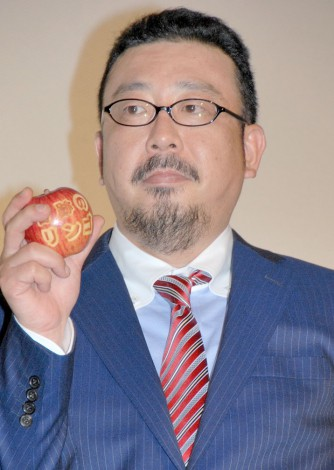 「映画の初日がまさか総選挙とは…」を嘆きを漏らした中村義洋監督=映画『奇跡のリンゴ』の公開初日舞台あいさつ (C)ORICON NewS inc.