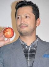 映画『奇跡のリンゴ』の公開初日舞台あいさつに出席した池内博之 (C)ORICON NewS inc.