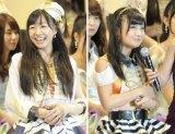 姉妹グループ躍進…初の選抜入りを果たしたSKE48の須田亜香里(16位、写真左)と柴田阿弥(17位) 写真:鈴木かずなり (C)ORICON NewS inc.