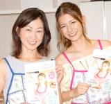 子作りに意欲を見せたスザンヌ(右)と母親のキャサリン (C)ORICON NewS inc.