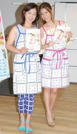 母娘による1日料理教室を開催したスザンヌ(右)と母親のキャサリン (C)ORICON NewS inc.