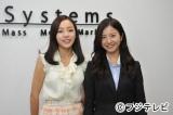 6月17日放送のフジテレビ系ドラマ『ガリレオ』第10話にKARAのク・ハラ(左)がゲスト出演。吉高由里子(右)と共演シーンも