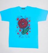 大野智と草間彌生さんがデザインを務めた今年の24時間TVチャリティTシャツ (C)ORICON NewS inc.