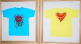 ドットが幻想的!大野智と草間彌生さんがデザインを務めた今年の24時間TVチャリティTシャツ (C)ORICON NewS inc.