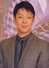 歌舞伎座新公演『七月花形歌舞伎』の製作発表イベントに出席した新婚の尾上菊之助 (C)ORICON NewS inc.