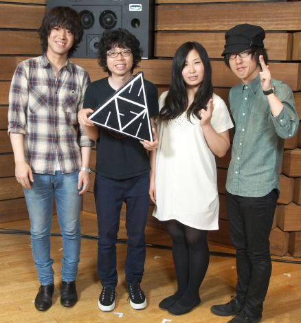 主題歌を担当するWHITE ASH (C)ORICON NewS inc.