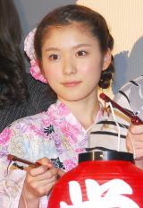 映画『絶叫学級』の初日舞台あいさつに出席した松岡茉優 (C)ORICON NewS inc.
