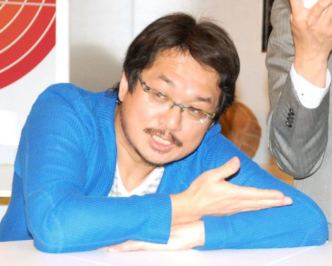 NHK新番組『スポーツ酒場 語り亭』の取材会に登場したやくみつる氏 (C)ORICON NewS inc.