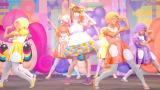 「おいしくな〜れ」?魔法かけダンスを披露したきゃりーぱみゅぱみゅ=江崎グリコ『アイスの実』の新CM記者発表会 (C)ORICON NewS inc.