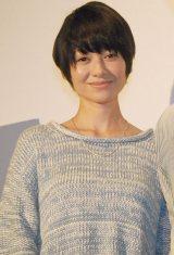 『さよなら渓谷』女性限定試写会ティーチインイベントに出席した真木よう子 (C)ORICON NewS inc.