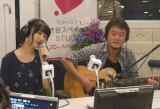 番組中にサプライズで生歌を披露したゆきりん(C)TOKYO FM