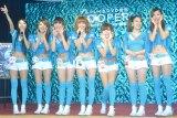 """台湾出身の7人組""""お天気アイドル""""・ウェザーガールズ (C)ORICON NewS inc."""
