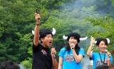 障害物レースの開幕イベントに出席した石田純一