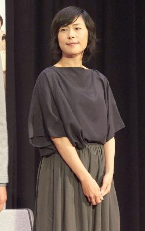 ドラマ『かすてぃら』完成披露試写会に出席した西田尚美 (C)ORICON NewS inc.