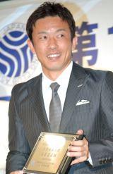 『第14回ベストスイマー2013』を受賞した赤星憲広 (C)ORICON NewS inc.