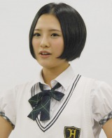 『HKT48 トンコツ魔法少女学院』の記者会見に出席した兒玉遥 (C)ORICON NewS inc.