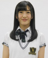 『HKT48 トンコツ魔法少女学院』の記者会見に出席した田島芽瑠 (C)ORICON NewS inc.