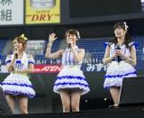 「第4回じゃんけん大会」への意気込みを語る高橋みなみ、大島優子、渡辺麻友(写真左から)(C)AKS