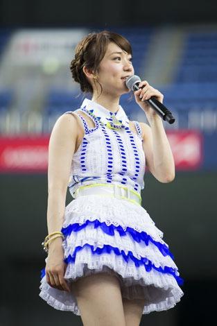 京セラドーム大阪で行われた握手会イベントに参加した大島優子(C)AKS