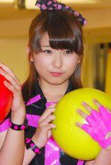 「ボウリングの日」キャンペーンのPR応援団に任命されたスマイレージ福田花音 (C)ORICON NewS inc.