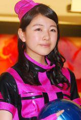 「ボウリングの日」キャンペーンのPR応援団に任命されたスマイレージ中西香菜 (C)ORICON NewS inc.