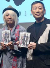『VOCALOID3 Library ZOLA PROJECT』発売記念トークイベントに出席した浅倉大介氏と森雪之丞氏 (C)ORICON NewS inc.