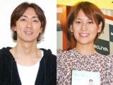ついにゴールイン! 2位の矢部浩之&青木裕子夫妻 (C)ORICON NewS inc.