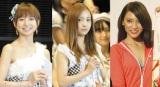 AKB48の卒業日が決定した(左から)篠田麻里子、板野友美、秋元才加  (C)ORICON NewS inc.