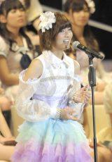 今月8日の『第5回AKB48選抜総選挙』でSNH48一本化を発表した宮澤佐江(撮影:鈴木かずなり) (C)ORICON NewS inc.