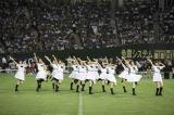 東京ドームで行われたアメフトのハーフタイムショーで新曲を披露した乃木坂46