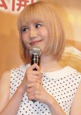 「下積みから女優をやってみたい」と語った水沢アリー=映画『アンコール!!』公開直前イベント (C)ORICON NewS inc.