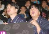 キス顔を披露したバナナマン(左から)設楽統、日村勇紀 (C)ORICON NewS inc.