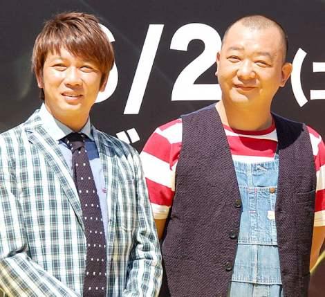 『hide MUSEUM 2013』のオープニングセレモニーに出席したTKO(木本武宏、木下隆行) (C)ORICON NewS inc.