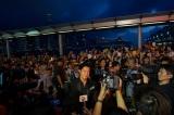 レッドカーペットイベントで取材を受ける福山雅治(映画『ガリレオ』香港プレミア)