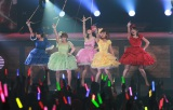 『℃-uteコンサートツアー2013春 〜トレジャーボックス〜』の最終公演の様子