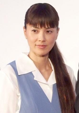 『ショムニ』新シリーズへの意気込みを語った江角マキコ=『ショムニ2013』制作発表会見 (C)ORICON NewS inc.