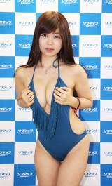 イメージDVD『ないしょ…。』をリリースした渋谷ゆり(C)De-View