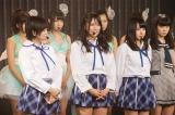 バラエティータレント転向を目指して福本愛菜がNMB48を卒業した(左から山本彩、福本、山田菜々)