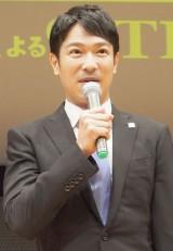 TBS系ドラマ『半沢直樹』の完成披露試写会に出席した堺雅人 (C)ORICON NewS inc.