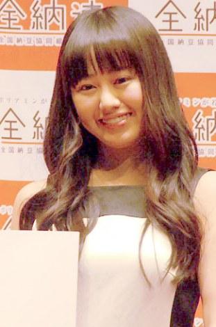 憧れの先輩は「米倉涼子」と語った宮崎香蓮=『2013年度納豆クイーン』表彰式 (C)ORICON NewS inc.