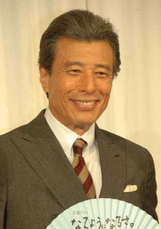 TBS系ドラマ『なるようになるさ。』の制作発表会見に出席した舘ひろし (C)ORICON NewS inc.