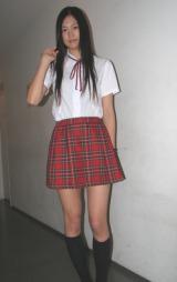 映画『終焉少女  LAST GIRL STANDING』の公開初日舞台挨拶に登壇した女優の小篠恵奈(19)。(C)De-View