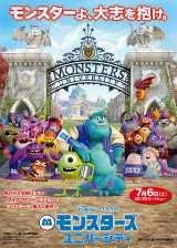 2013年No.1のオープニング成績を飾った『モンスターズ・ユニバーシティ』(C)2013 Disney/Pixar. All Rights Reserved.