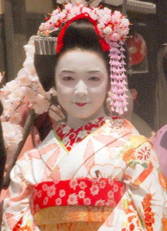 役衣装で登場した主演の上白石萌音=映画『舞妓はレディ』制作発表会見 (C)ORICON NewS inc.