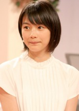 NHK朝の連続テレビ小説『あまちゃん』出演者発表会見に出席した能年玲奈 (C)ORICON DD inc.