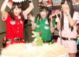 ももいろクローバーZ(左から)百田夏菜子、有安杏果、佐々木彩夏=恐竜ショー『WALKING WITH DINOSAURS LIVE ARENA TOUR IN JAPAN』初日公演 (C)ORICON NewS inc.