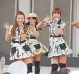 オープニングスペシャルライブ(左から)板野友美、横山由依、篠田麻里子 (C)ORICON NewS inc.